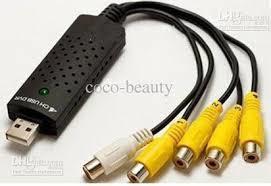 DVR 4 channel USB Video Capture Card - Black
