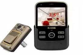 Wireless Video Door Phone with Recorder - Black