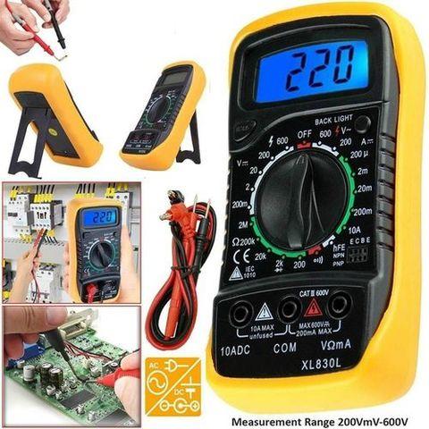 Digital Multi meter XL830L