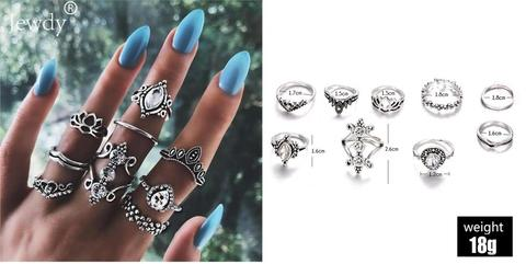 Jewelry Silver Ring setv