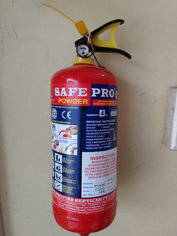 Fire Extinguisher ABCE Powder 5KG -Red
