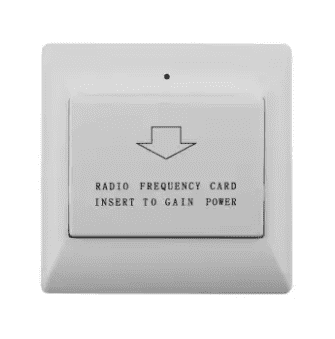 Hotel Power Energy Saving Switch 40A -White