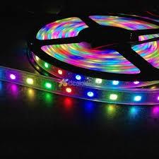 Digital Programmable Addressable SMD 5050 WS 2812B RGB LED Strip 30 Led 1m -White