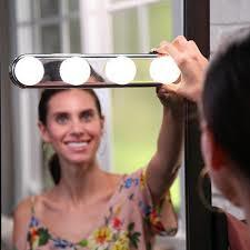 Studio Glow Make Up Light Super Bright Cosmetic Mirror Light Kit Battery Powered Makeup Light-White