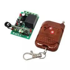 Wireless communication on and off / on remote with Controller 1ch Learning code-Black