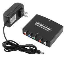 4K HDMI to RGB Component YPbPr +R/L Converter-Black