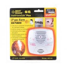 Plug-in LP-Gas Alarm Gas Detector Gas Leak Detector-White