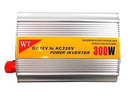 300W Inverter USB 12V to 220V DC to AC Extra Surge Capacity Car Auto Power Inverter Converter-Silver