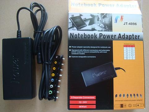 Universal Laptop Power Supply 12V 16V 20V 24V Adapter For Laptop Notebook-Black
