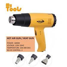 Hot Air Gun Heat Gun 2000W Double Heat Control -Yellow