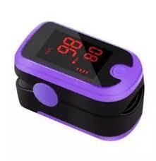 Fingertip Pulse Oximeter With Audio Alarm & Pulse Sound - Spo2 Monitor Finger Puls Oximeter-Blue