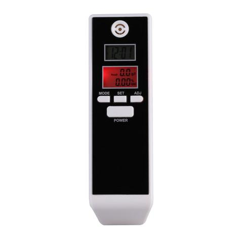 Alcohol Tester Professional Breath Parking Detector -Black
