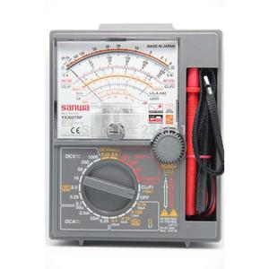 Analog Multi meter SANWA YX360TRF/YX-360TRF seismic shock meter fall prevention of Japanese origin-Black