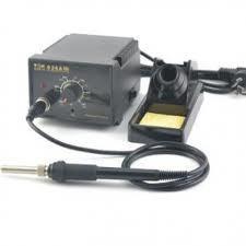 Soldering station adjustable thermostat electric iron soldering station iron thermostat ksd-936-Black