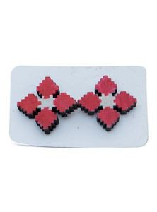 Wooden Colorful Hand Crafting Earrings For Women