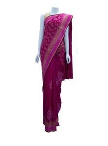 Half Silk Saree