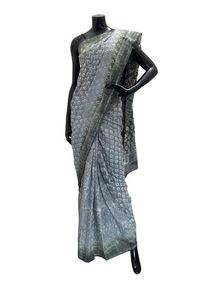 Batik Dyed Cotton Saree For Women