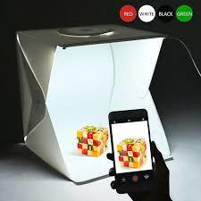 Photo Studio Small Shooting Box Photography Lighting Tent Kit