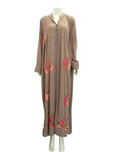 Long Abaya for Elegant Muslim Women