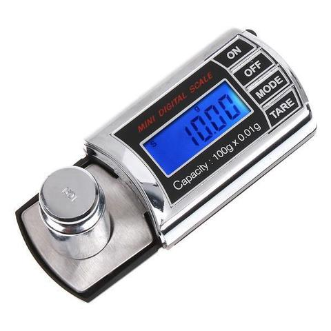 20g 0.001g LCD Digital Milligram Weights Gram Pocket Scale Mini Electronic Diamond Jewelry Scales-Black