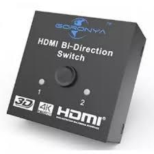 HDMI Bi-Directional Switch-Black