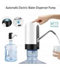 ELECTRIC RECHARGEABLE WATER JAR PUMP  -White