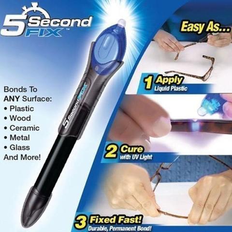 Ontel 5 Second Fix – Liquid-Plastic Welding Repair Tool As Seen On TV-Black