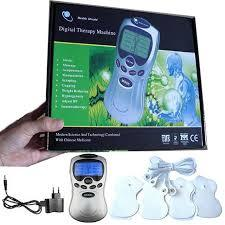 Acupuncture / Digital Therapy Machine Massager electronic pulse massager health equipment-Silver