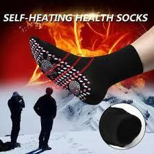 HEATING MAGNETIC THERAPY SOCKS-Black