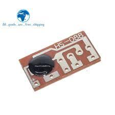 10PCS HS-088A Dingdong Tone Doorbell Music Voice Module Board IC Sound Chip -Yellow