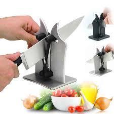 Bavarian Edge Knife Sharpener Kitchen Tungsten Steel Sharpener Polish Knife Sharp Hone Knife Sharpener Kitchen Tool-Steel
