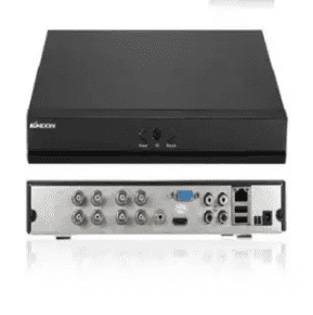 5 IN 1 Onvif 1080p AHD DVR 8 channels -Black