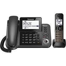 Panasonic KX-TGF380M Link2Cell Bluetooth Telephone-Black