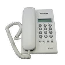 Panasonic KX-TS7703 Corded Telephone -White