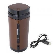 USB Coffee Cup Rechargeable Powered Coffee Mug Warmer Automatic Stirring