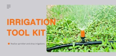 25 m DIY micro drip irrigation Systems -Black