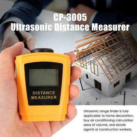 Laser Distance Meter -Yellow