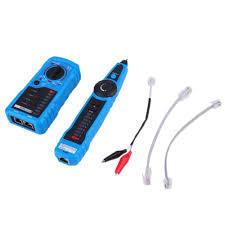 New FWT11 Handheld Multi-function RJ45 RJ11 Network Wire Tracker Tester-Blue