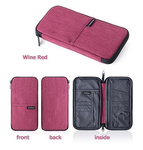 Naturehike multifunctional open bag for cash passport card Using Multi Travel Wallet NH17C001-Wallet
