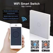 86mm WIFI 3Gang Smart Controller Wall Switch Touch Panel For Alexa/Google Home-White
