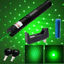 Rechargeable Green Laser Pointer- Black