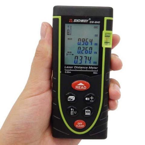 SNDWAY SW-M100 Digital Laser Distance Meter -Blac