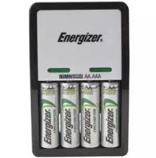S5242 Compact Charger with 4 x AA 2000 mAh Batteries