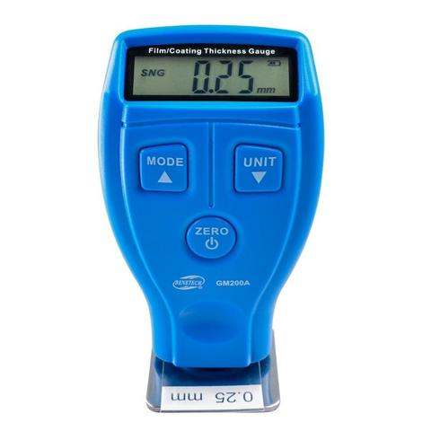 GM200A Film/Coating Thickness Guage Meter-Blue
