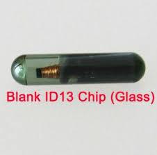 Transponder ID13 Car Key Blank Glass Chip For Audi Fiat Honda Saab Volkswagen Kia Skoda Peugeot Auto Fob Accessories