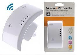 Wireless-N wi-fi Repeater 300 Mbps Long Range Extender Booster -White