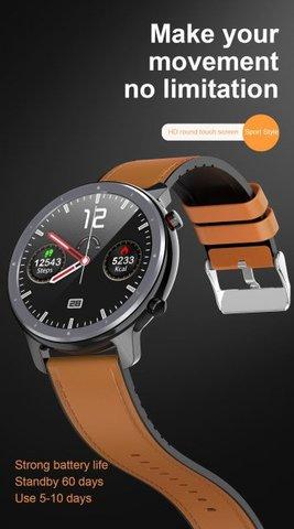 Microwear L11 Smart Watch Men ECG Heart Rate Monitor Blood Pressure Oxygen Weater Multi-Sports Mode Fitness Tracker...