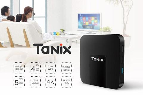 TX3 Mini TV Box 2GB RAM + 16GB ROM With Display -Black