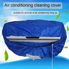 Air conditioner cleaning cover With 10fet pipe-Blue