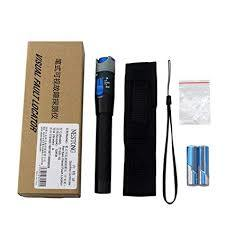 10mW 10KM Visual Fault Locator Fiber Optic Laser Cable Tester Test Equipment-Black